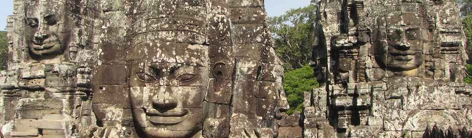 photo of Bayon temple, Angkor Thom, Siem Reap, Cambodia